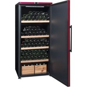 LA SOMMELIERE VIP 265P - Cave ? vin de vieillissement - 265 bouteilles - Pose libre - Classe A+ - L 70 x H 165 cm