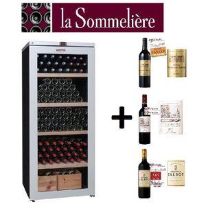 cave a vin 35 bouteilles achat vente cave a vin 35 bouteilles pas cher cdiscount. Black Bedroom Furniture Sets. Home Design Ideas