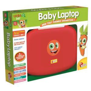 JEU D'APPRENTISSAGE LISCIANI Carotina Baby Laptop - Jeu Educatif Elect