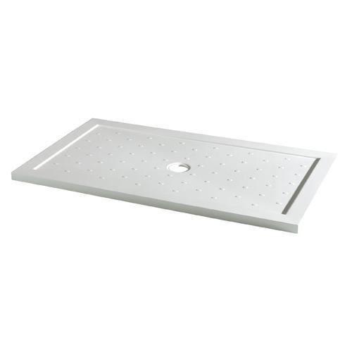 Receveur de douche extra plat rectangulaire 80x160cm for Baque a douche extra plat