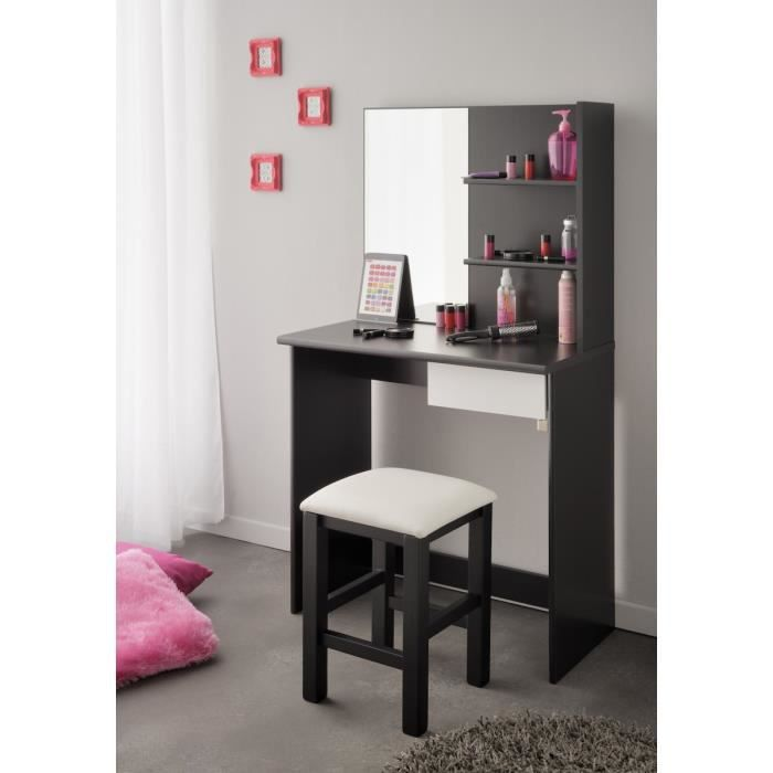 phantom ensemble coiffeuse et tabouret achat vente. Black Bedroom Furniture Sets. Home Design Ideas