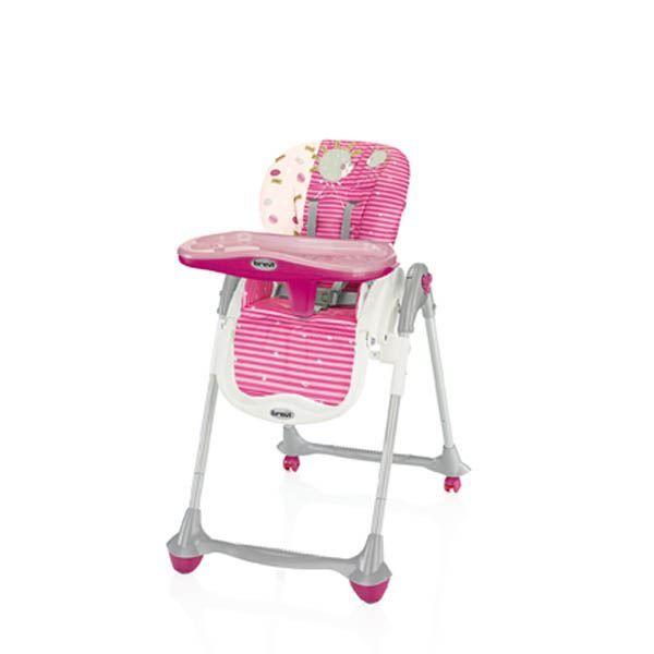 Chaise haute convivio fushia achat vente chaise for Chaise haute bebe carrefour