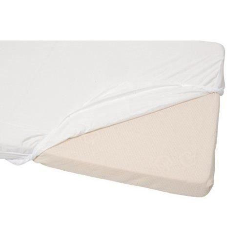 candide drap housse imperm able 70 x 140 cm blanc achat vente drap housse matelas. Black Bedroom Furniture Sets. Home Design Ideas