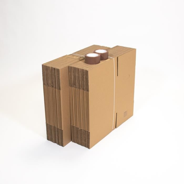 pack 40 cartons d m nagement livres achat vente caisse. Black Bedroom Furniture Sets. Home Design Ideas
