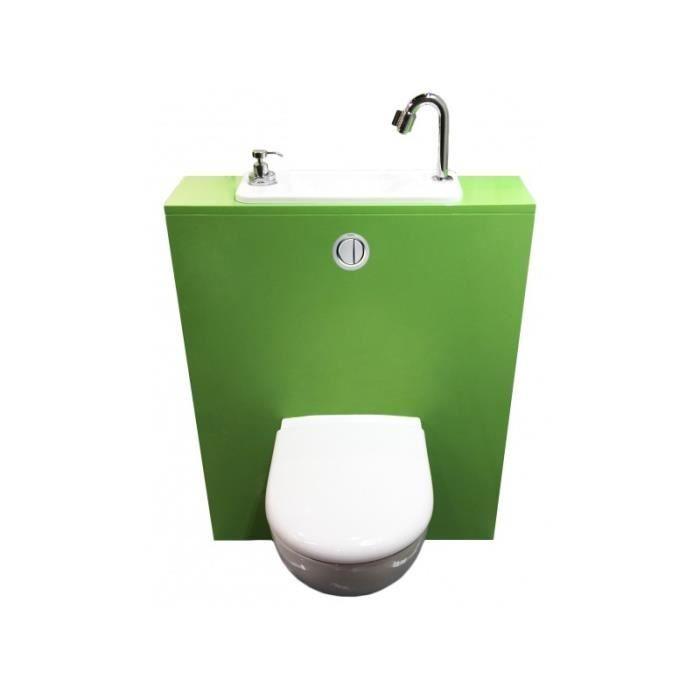 Lave mains compact sur wc suspendu geberit wici nextsans for Cuvette wc suspendu geberit