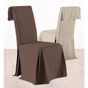 housses chaises haut dossier achat vente housses chaises haut dossier pas cher cdiscount. Black Bedroom Furniture Sets. Home Design Ideas