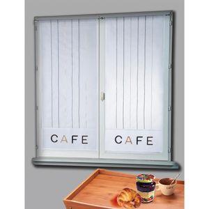 Vitrage rideaux 45x120 achat vente vitrage rideaux for Fenetre 45x120