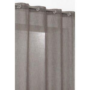 rideaux lin a oeillets 140x240 achat vente rideaux lin a oeillets 140x240 pas cher cdiscount. Black Bedroom Furniture Sets. Home Design Ideas