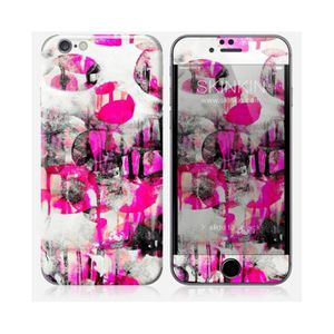 STICKER TÉLÉPHONE Skin iPhone 6 Plus Design A touch of pink