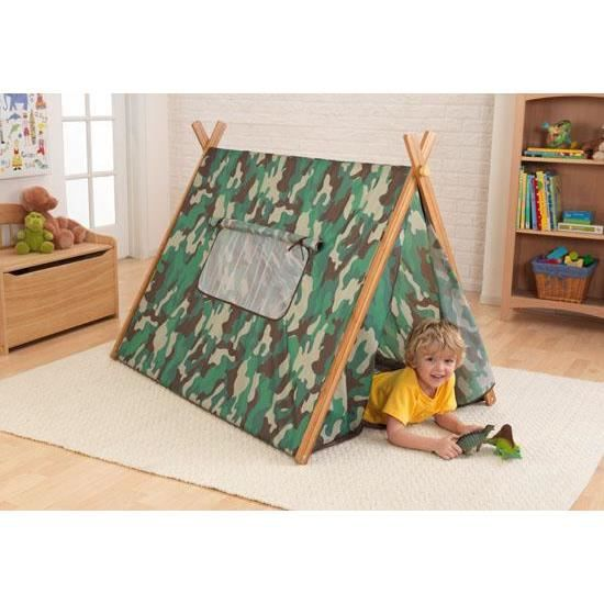 cabane tente de jeux enfant couleur camouflage achat vente tente tunnel d 39 activit cdiscount. Black Bedroom Furniture Sets. Home Design Ideas