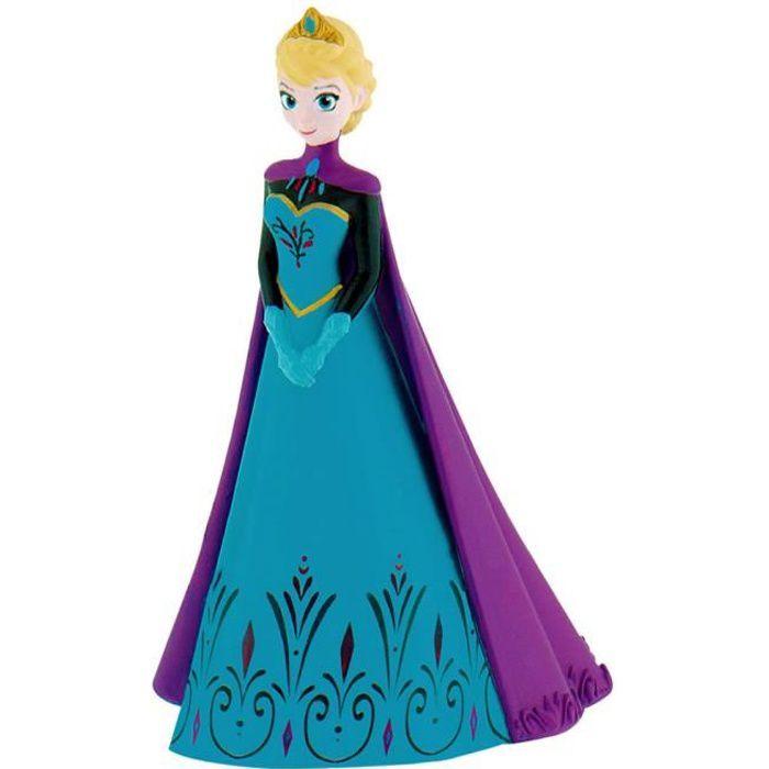 Figurine la reine des neiges elsa avec cape achat - Personnage reine des neiges ...