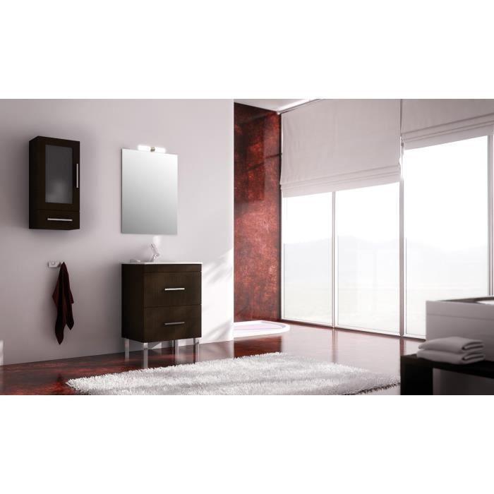 Granada ensemble meuble de salle de bain weng 60 cm for Meuble salle de bain 60 x 45