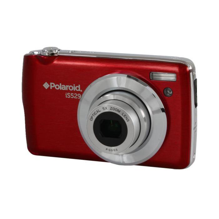 appareil photo num rique 16mp polaroid is529 roug achat vente appareil photo compact cdiscount. Black Bedroom Furniture Sets. Home Design Ideas