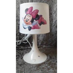 LAMPE A POSER lampe de chevet blanche enfant minnie