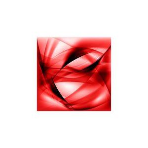 tableau toile abstrait rouge achat vente tableau toile abstrait rouge pas cher cdiscount. Black Bedroom Furniture Sets. Home Design Ideas