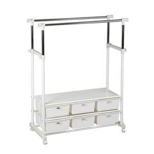 portant avec tiroir achat vente portant avec tiroir pas cher cdiscount. Black Bedroom Furniture Sets. Home Design Ideas