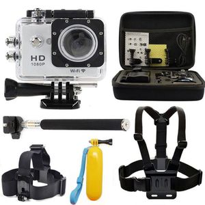PACK CAMERA SPORT WIFI 1080P Go Sport Pro Action Waterproof Camera 3