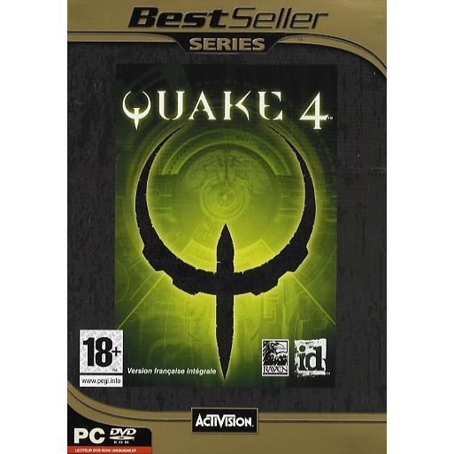 JEU PC QUAKE 4 BEST SELLER / JEU PC DVD-ROM