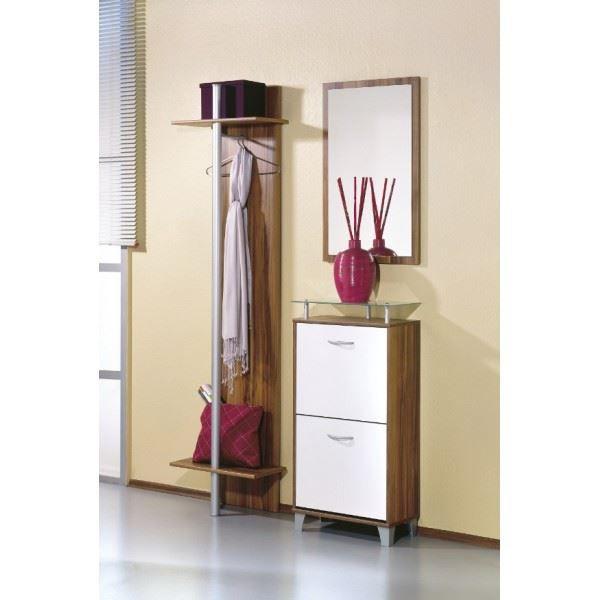 Vestiaire sasha compos d 39 1 meuble chaussure achat for Meuble entree chaussure vestiaire