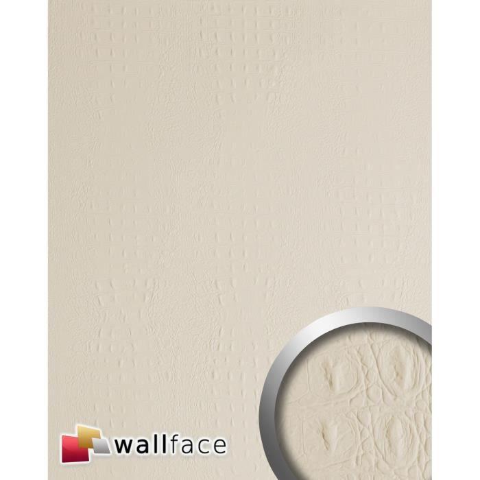 Design rev tement mural auto adh sif wallface 13466 croco - Auto adhesif mural ...