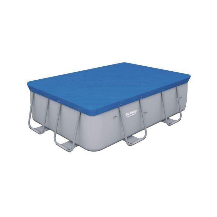 b che piscine rectangulaire power frame pool 4 saisons 282 x 196 cm achat vente b che. Black Bedroom Furniture Sets. Home Design Ideas