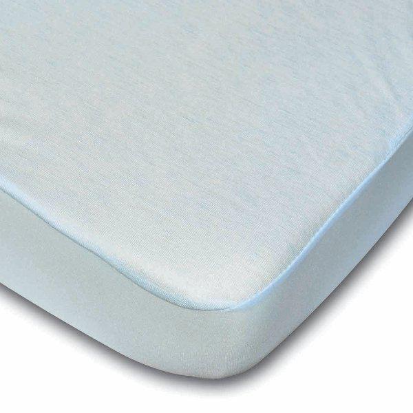 drap housse al se 2 en 1 60x120 bleu ciel achat. Black Bedroom Furniture Sets. Home Design Ideas