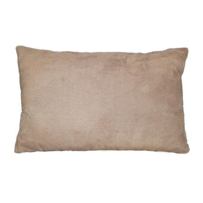 coussin 30x50 cm peche sable achat vente coussin. Black Bedroom Furniture Sets. Home Design Ideas
