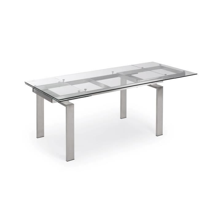 Table extensible nara 160 240 cm achat vente table a for Table salle a manger 240 cm