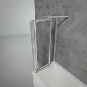 pare baignoire achat vente pare baignoire pas cher les soldes sur cdiscount cdiscount. Black Bedroom Furniture Sets. Home Design Ideas