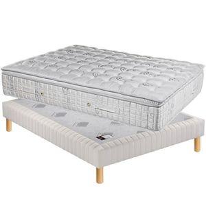 ensemble matelas sommier 200x200 achat vente ensemble matelas sommier 200x200 pas cher. Black Bedroom Furniture Sets. Home Design Ideas