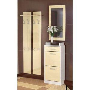 Petit meuble d entree blanc achat vente petit meuble d - Vestiaire d entree pas cher ...
