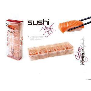 KIT CUISINE ASIATIQUE  Kit Sushi party moule 5 sushi - KU6066 - CMP