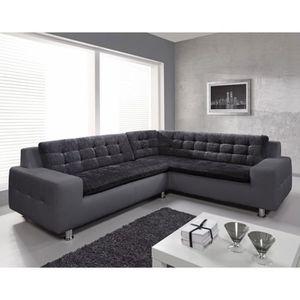 canape bi matiere achat vente canape bi matiere pas cher cdiscount. Black Bedroom Furniture Sets. Home Design Ideas