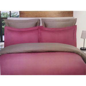 housse de couette rose poudre achat vente housse de couette rose poudre pas cher les. Black Bedroom Furniture Sets. Home Design Ideas