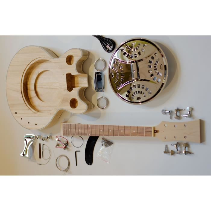 guitare 233 lectrique en kit haut de gamme 224 r 233 sonateur 224 monter soit meme diy