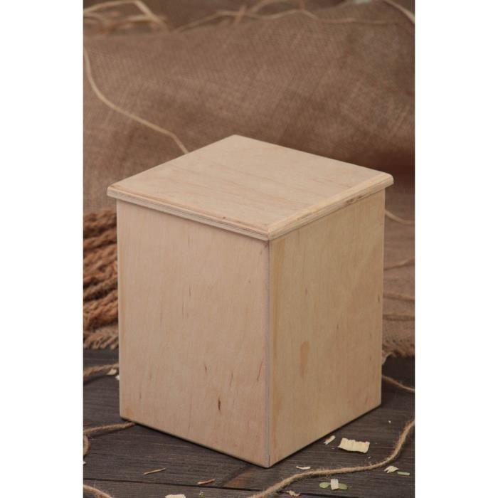 petite bo te de rangement d corer et peindre achat vente objet d coratif cdiscount. Black Bedroom Furniture Sets. Home Design Ideas