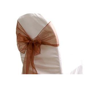 mati re organzacouleur chocolattaille 15cmprix pour 50 pi ces. Black Bedroom Furniture Sets. Home Design Ideas