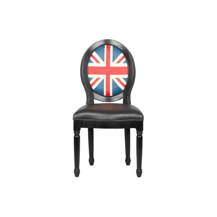 chaise m daillon louis xvi pu drapeau anglais achat vente chaise cdiscount. Black Bedroom Furniture Sets. Home Design Ideas