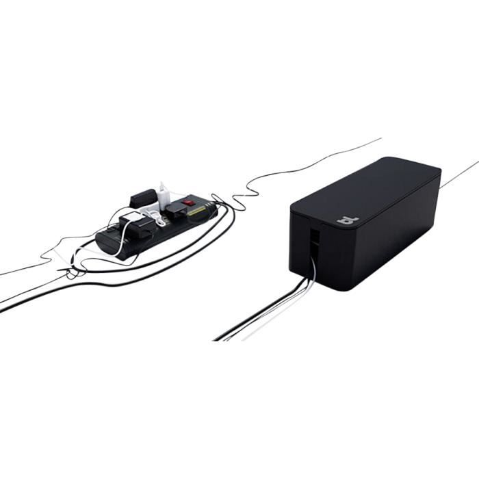 bluelounge cablebox bo te de rangement pour c ble noir achat vente attach case. Black Bedroom Furniture Sets. Home Design Ideas