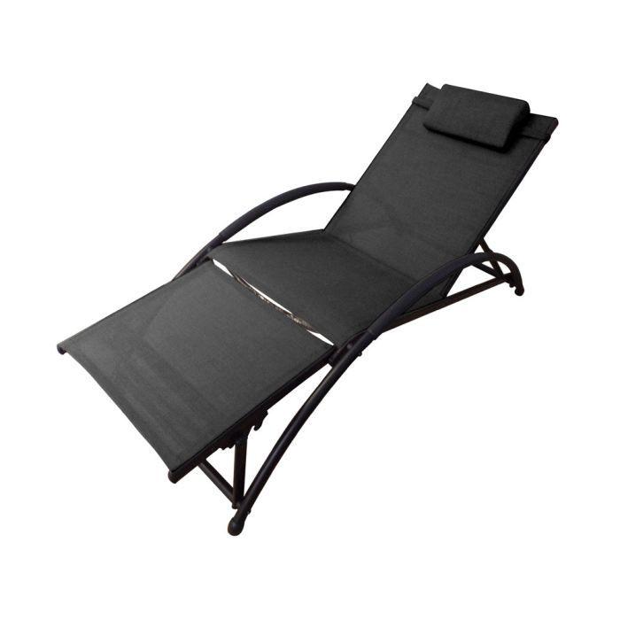 bain de soleil princesse noir achat vente chaise longue transat bain de soleil princesse. Black Bedroom Furniture Sets. Home Design Ideas