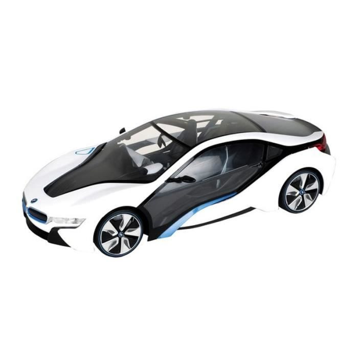voiture radiocommand e 1 18 bmw i8 blanche achat. Black Bedroom Furniture Sets. Home Design Ideas