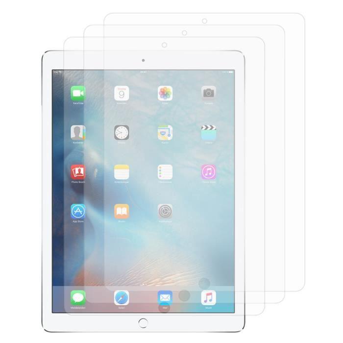apple ipad pro lot pack de 3 films protecteur d 39 cran. Black Bedroom Furniture Sets. Home Design Ideas