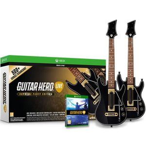 JEUX XBOX ONE Guitar Hero Live Supreme Party Edition Jeu Xbox On