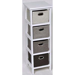 meuble avec panier achat vente meuble avec panier pas cher cdiscount. Black Bedroom Furniture Sets. Home Design Ideas