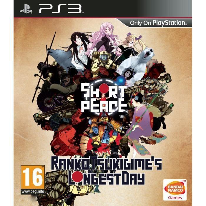 short peace jeu ps3 achat vente jeu ps3 nouveaut short peace jeu ps3 cdiscount. Black Bedroom Furniture Sets. Home Design Ideas
