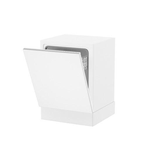 Facade lave vaisselle full 60 70 monza blanc achat for Meuble cuisine lave vaisselle