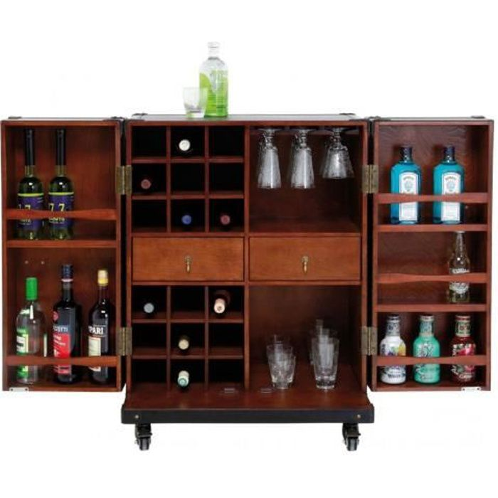 Colonial by kare meuble bar achat vente meuble bar for Meuble colonial occasion