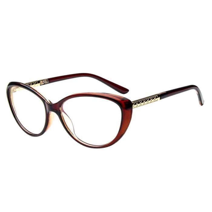 lunettes cadre r 233 tro lentille clair pour homme et femme achat vente lunettes de vue lunettes