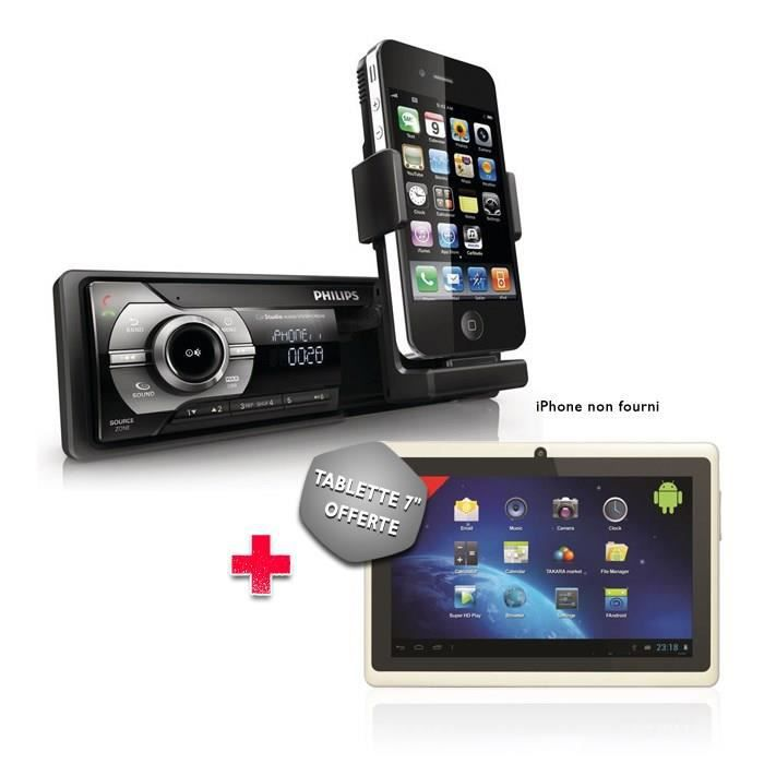 philips cmd310 dock ipod iphone tablette achat vente. Black Bedroom Furniture Sets. Home Design Ideas