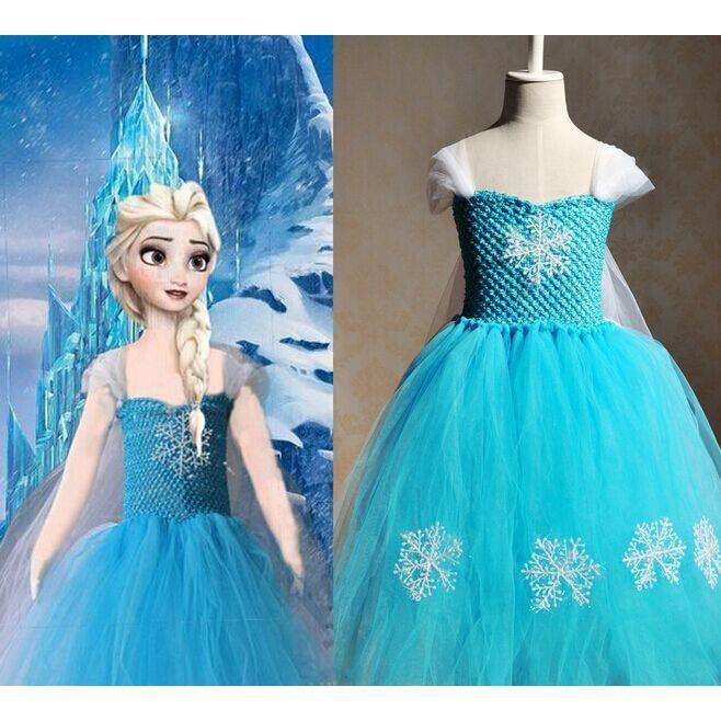 dguisement panoplie halloween robe princesse reine des neiges frozen c